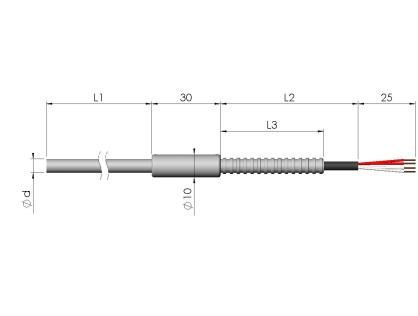 Pt100-sensor