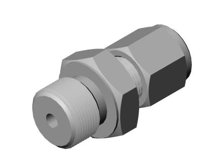 Compression fitting G1/4
