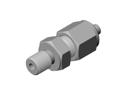 Compression fitting M8x1