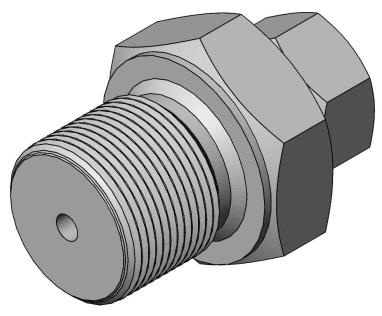 Compression fitting G1/8